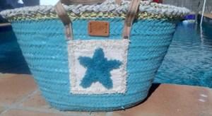 cesta para la playa